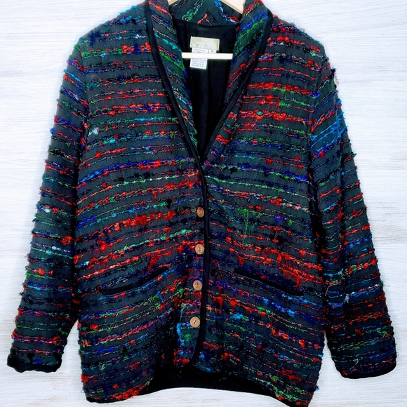 The Territory Ahead Jackets & Blazers - The Territory Ahead Silk Button Jacket